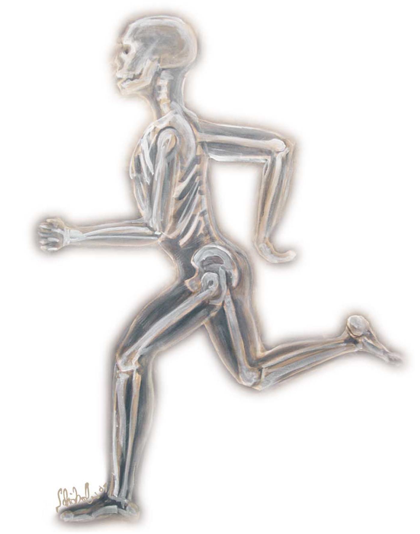 Startklar für den Röntgenlauf