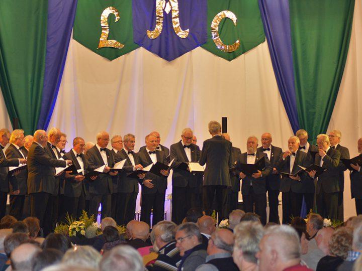 Männerchor feierte 164. Stiftungsfest