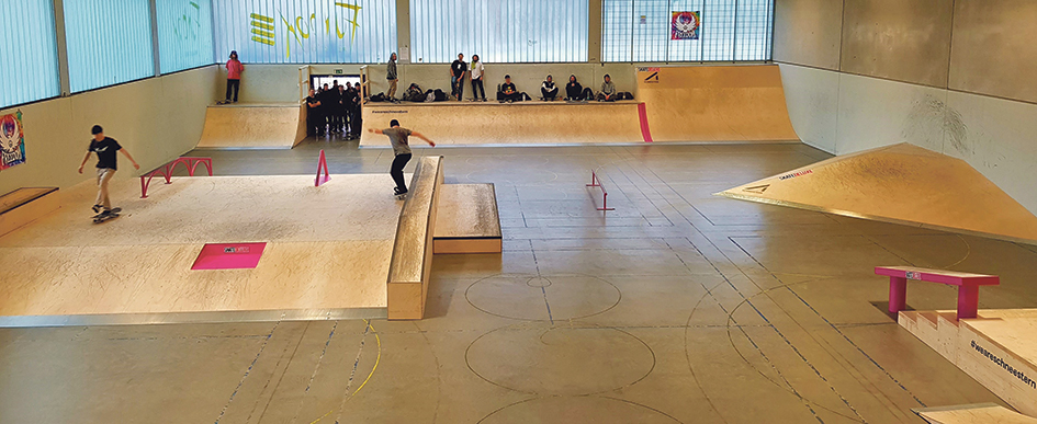 Funbox ist nun ein Paradies für Skater