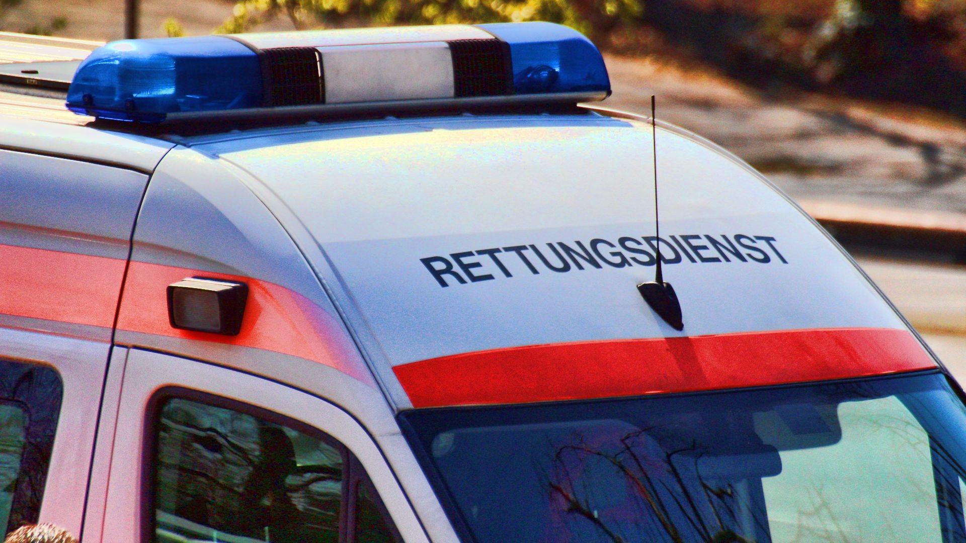 Unfall auf der Kreuzbergstraße