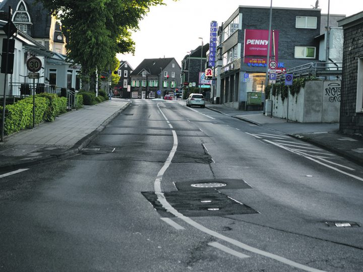 Kreuzbergstraße ab 20. Juli voll gesperrt