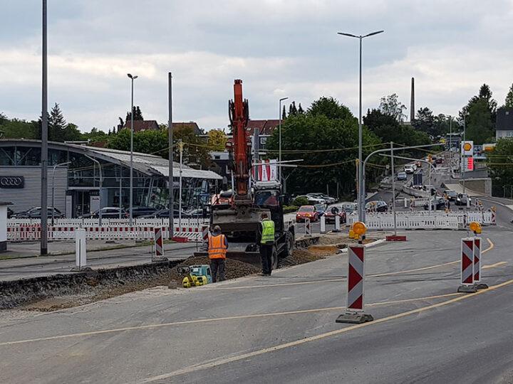 Ringstraße wird zur Einbahnstraße
