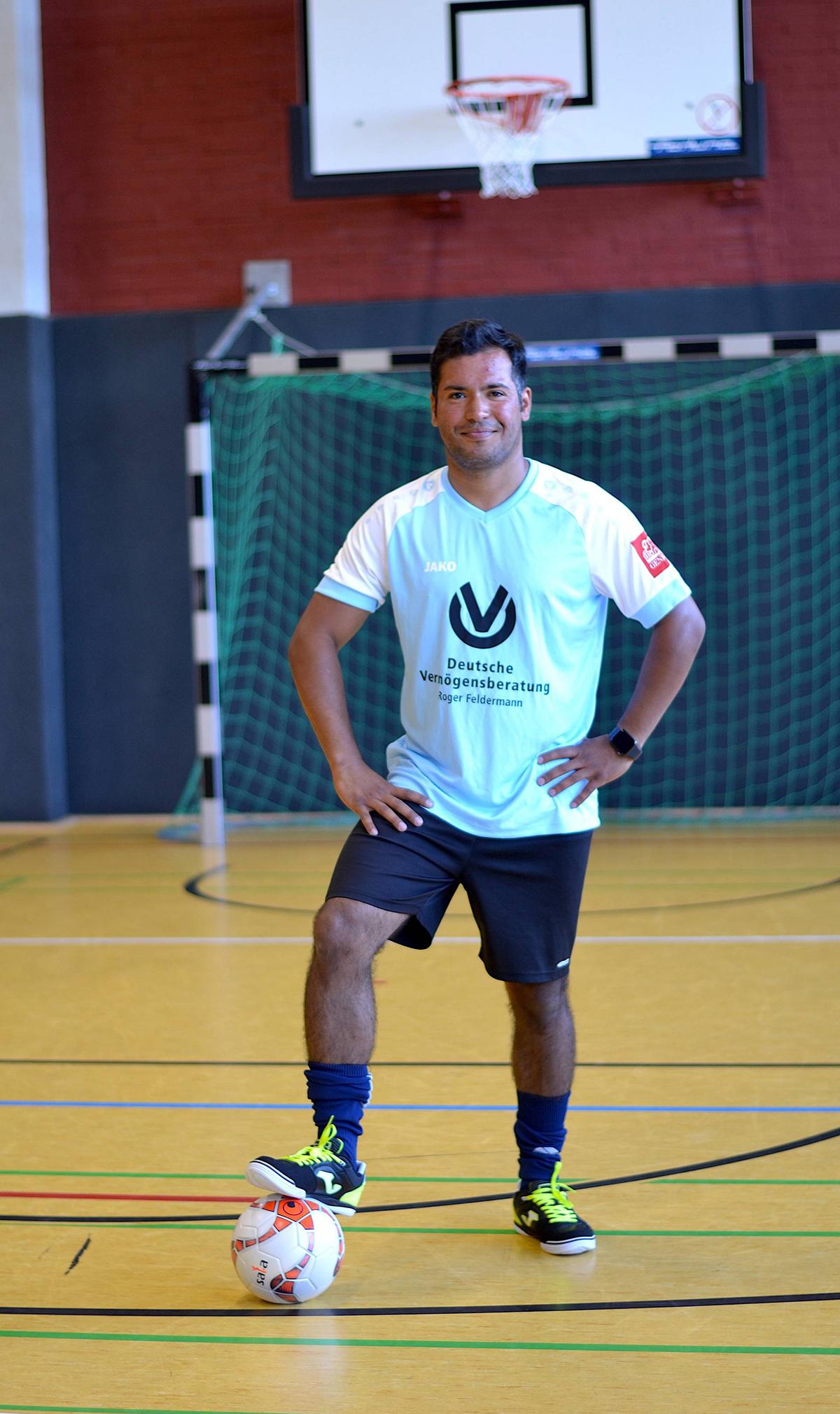 """Ein Brasilianer will Deutschland """"Futsal"""" lehren"""
