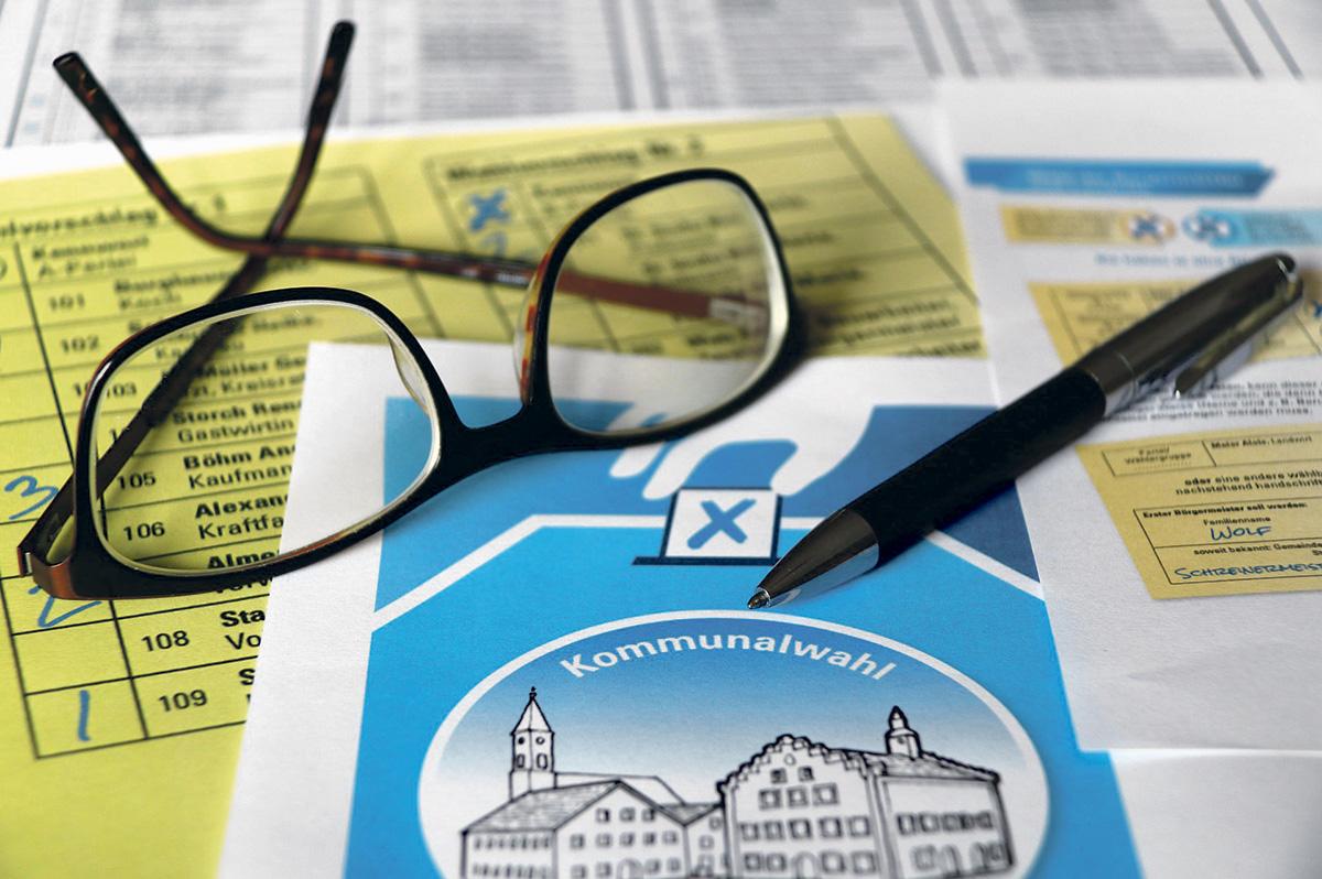 Wahlvorbereitungen in vollem Gange