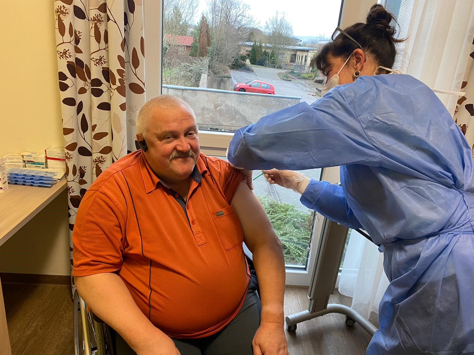 Impfstart geglückt