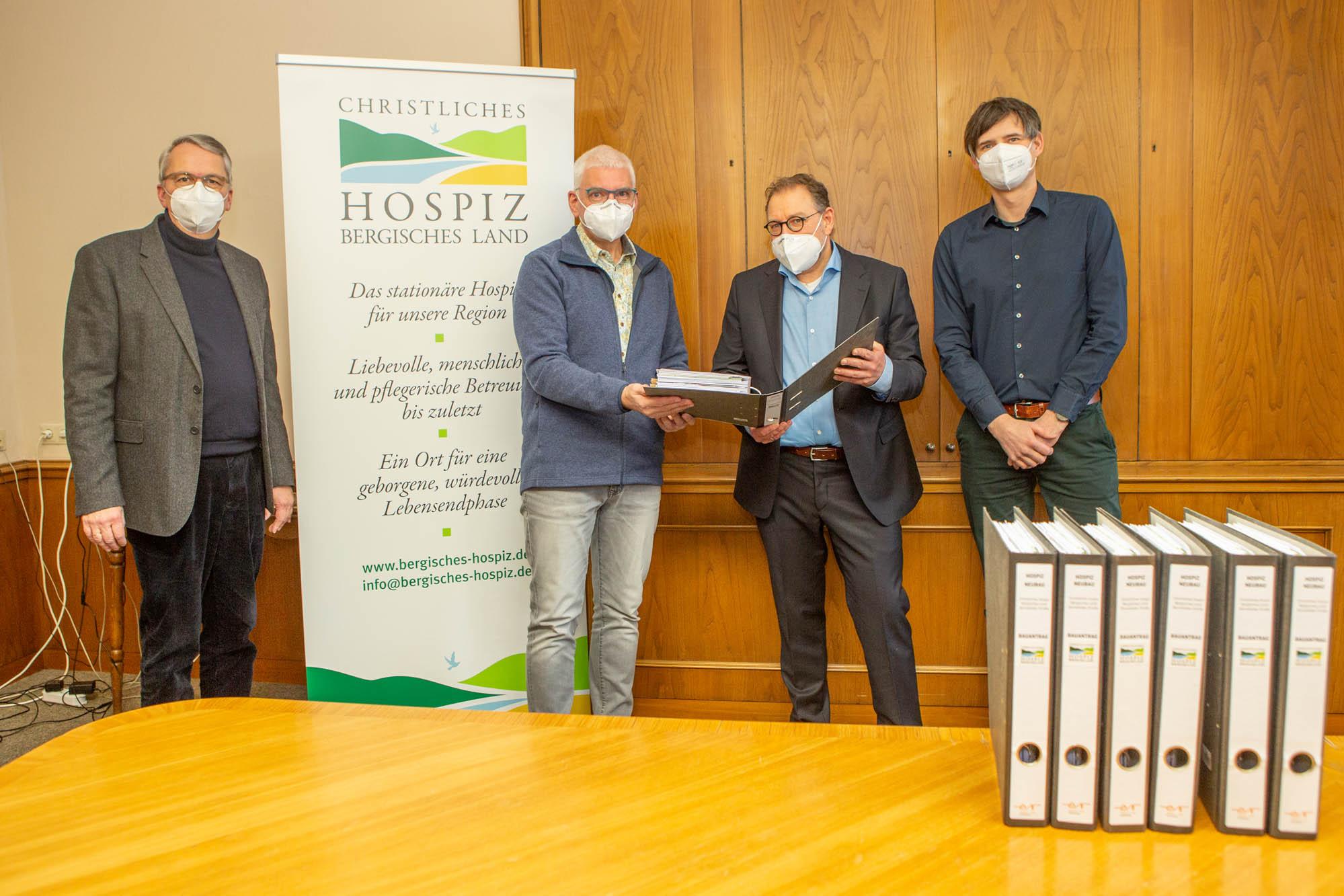 Christliches Hospiz Bergisches Land: Bauantrag ist eingegangen