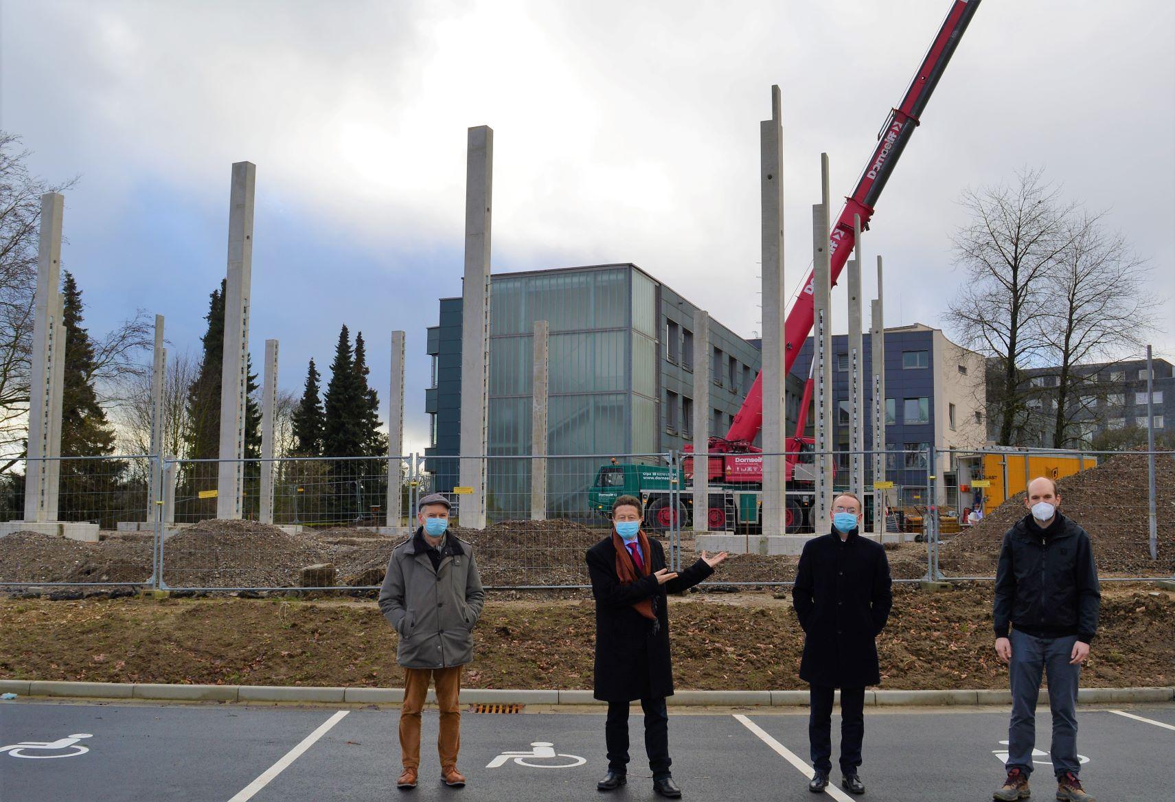 Neue Sporthalle für den Tannenhof