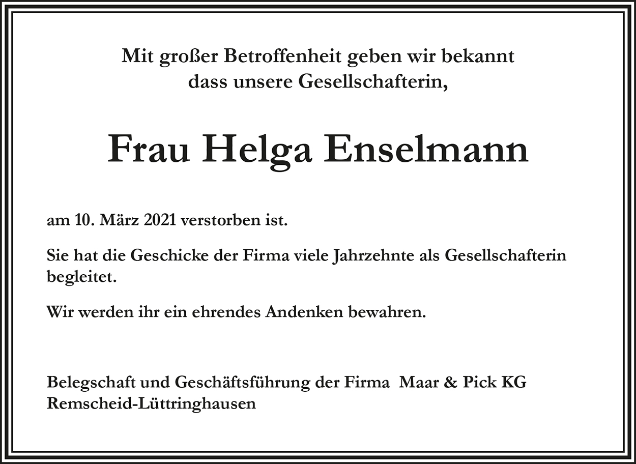 Helga Enselmann