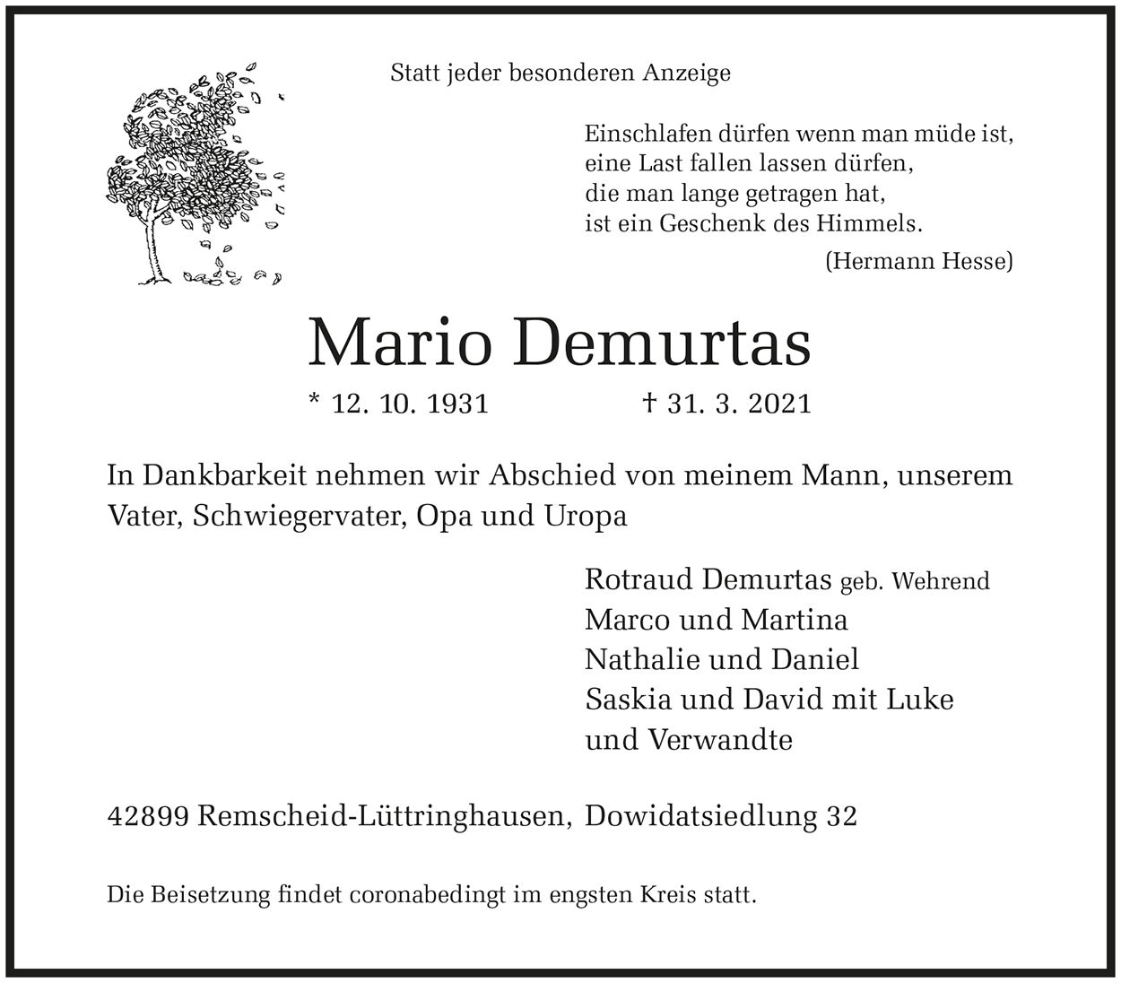 Mario Demurtas