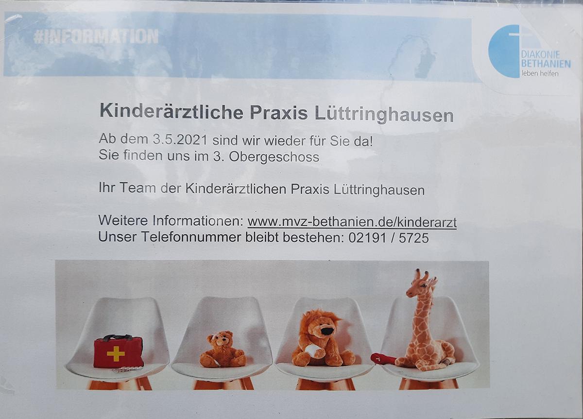 Start für die Kinderarztpraxis Lüttringhausen