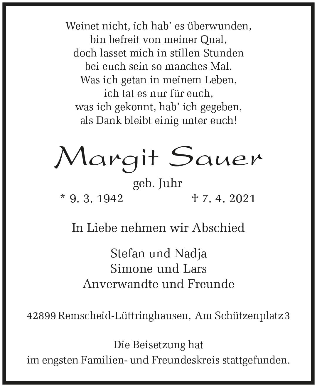 Margit Sauer