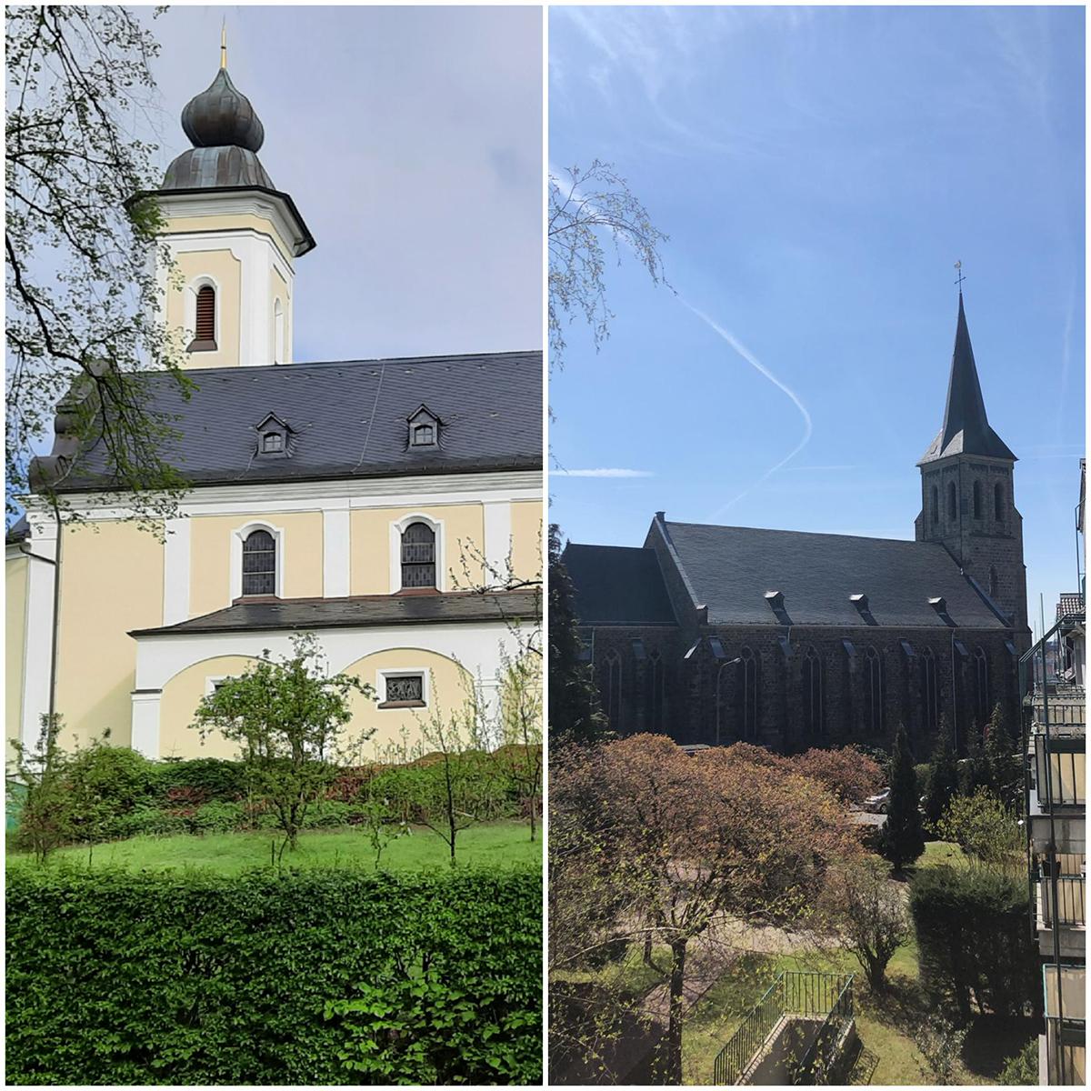 St. Bonaventura und Heilig Kreuz wieder in Präsenz