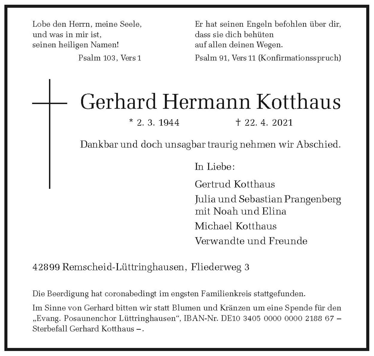 Gerhard Hermann Kotthaus