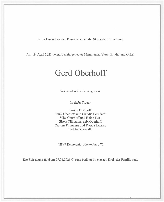 Gerd Oberhoff