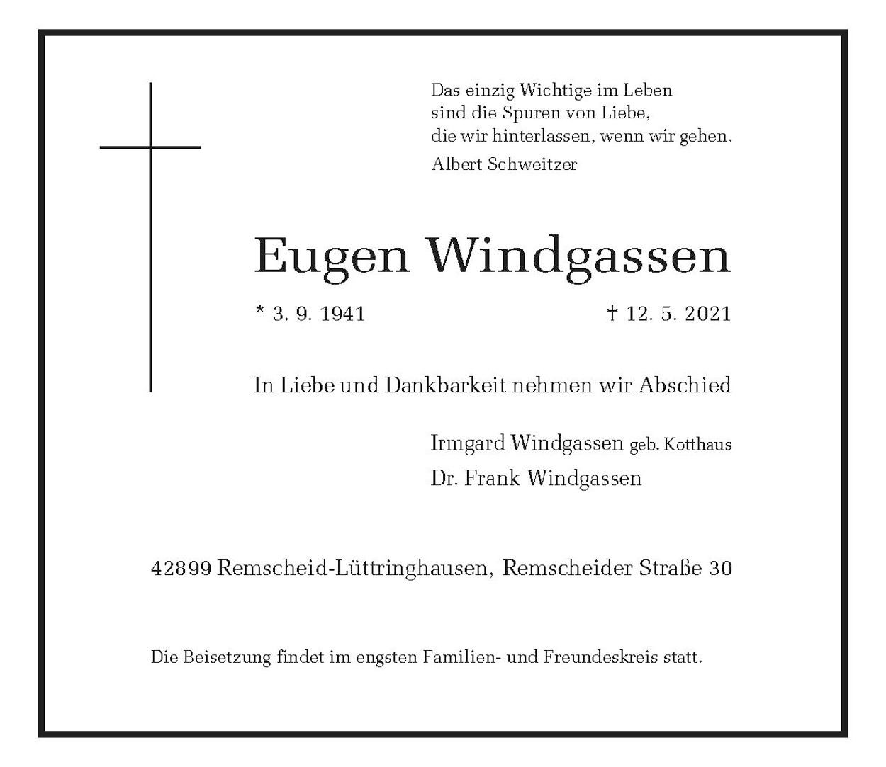 Eugen Windgassen