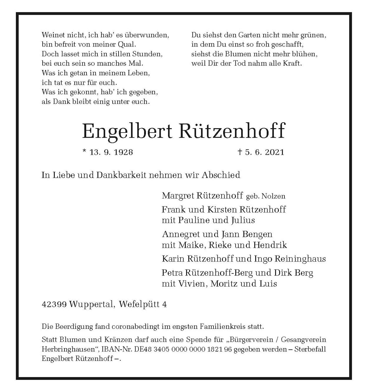 Engelbert Rützenhoff