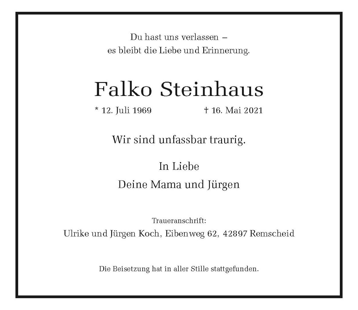 Falko Steinhaus