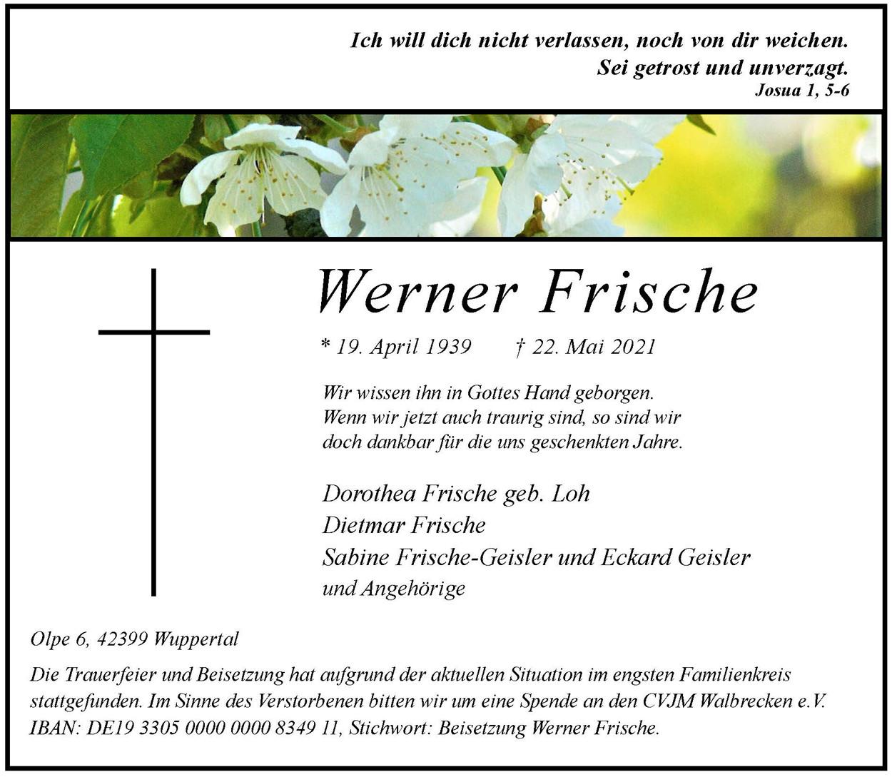 Werner Frische