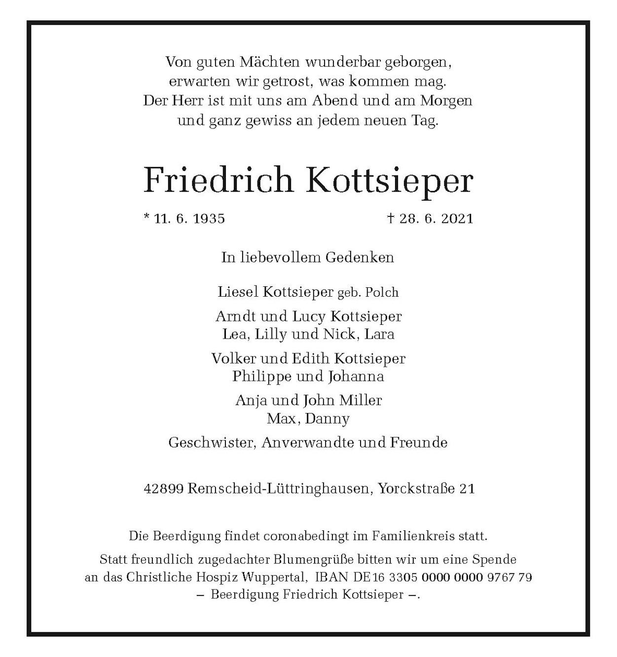 Friedrich Kottsieper