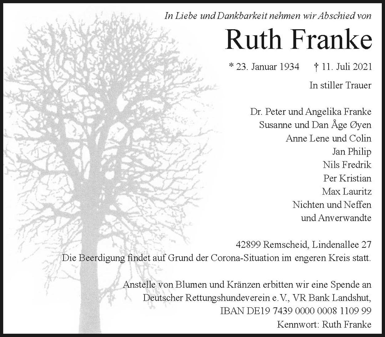 Ruth Franke