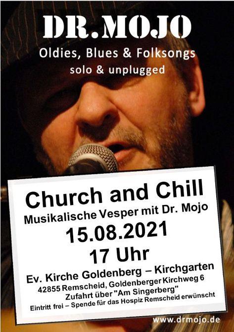 """""""Church and Chill"""" im Goldenberger Kirchgarten"""