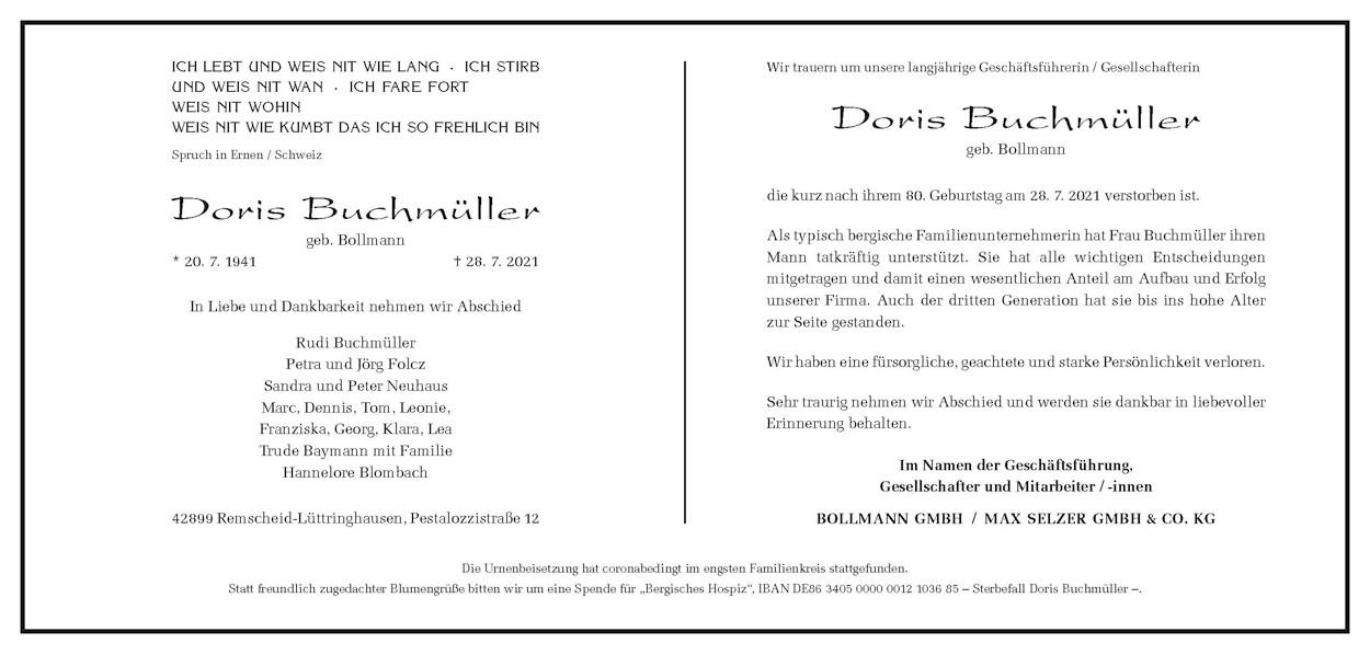 Doris Buchmüller