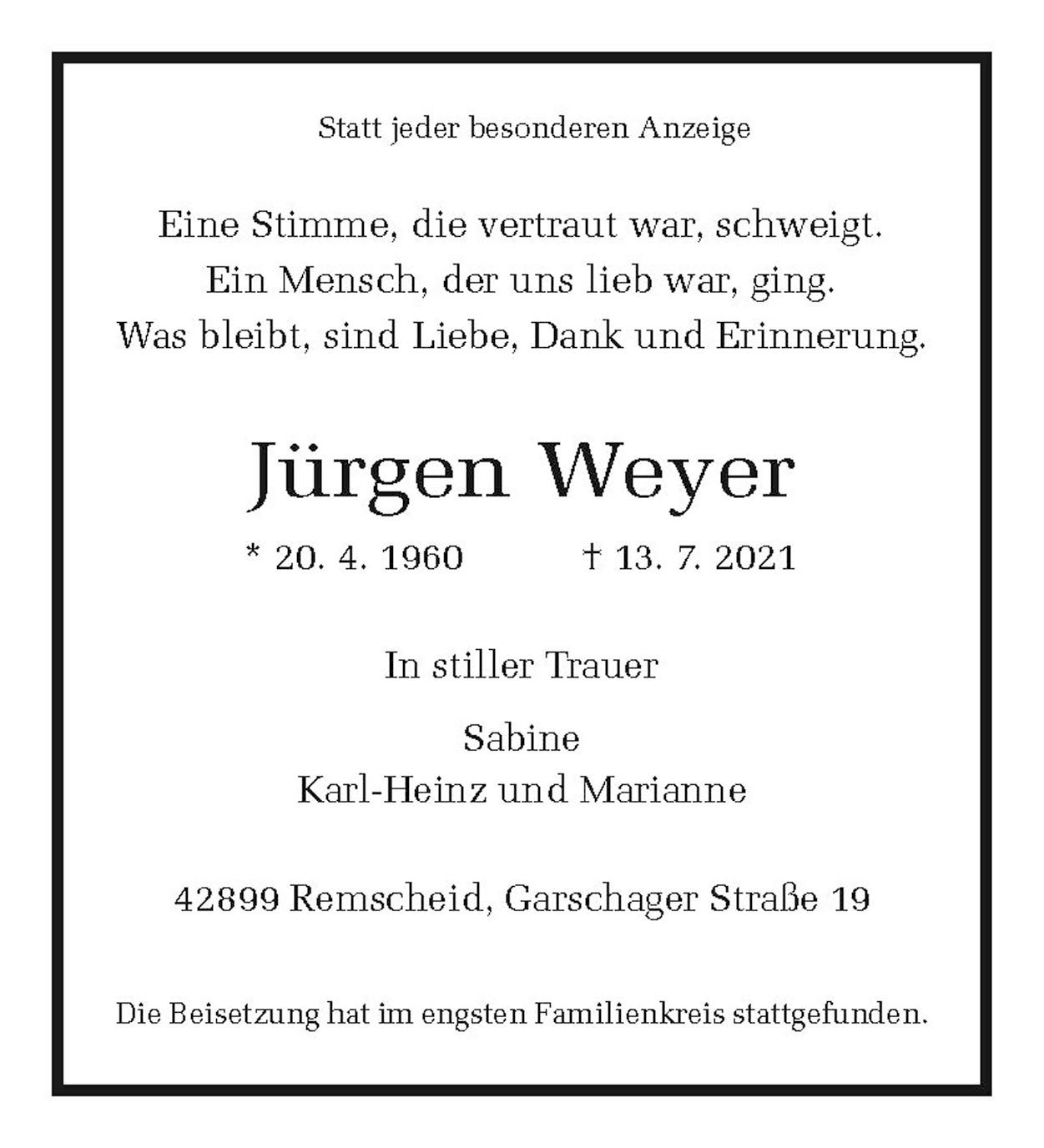 Jürgen Weyer
