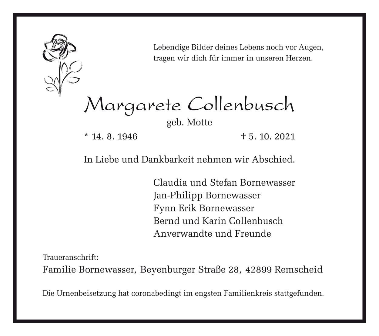 Margarete Collenbusch