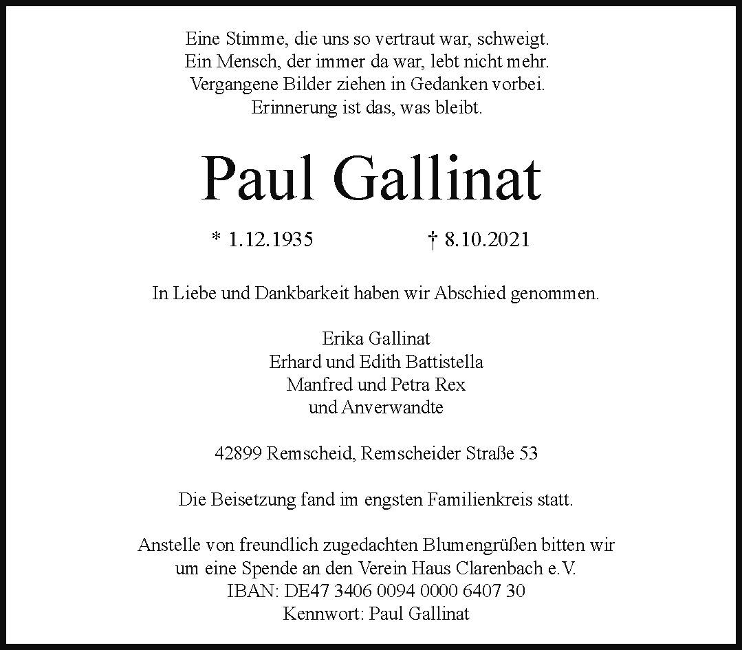 Paul Gallinat