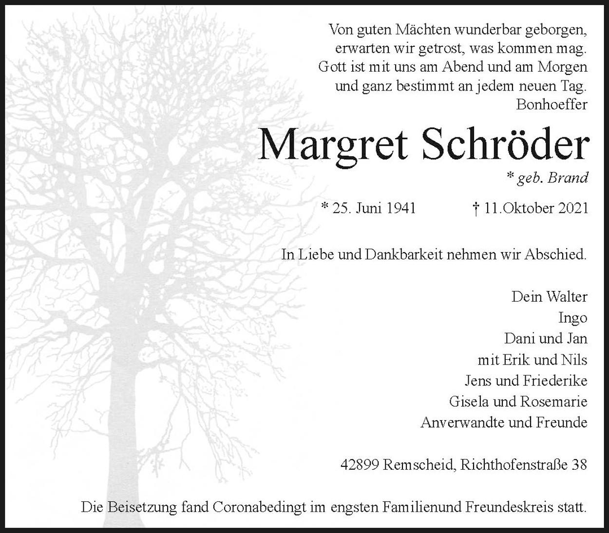 Margret Schröder